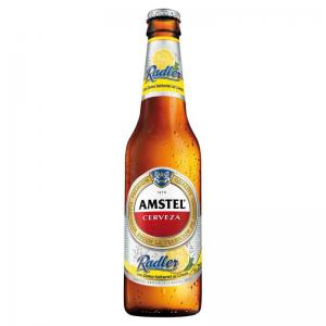 Amstel Radler with Lemon